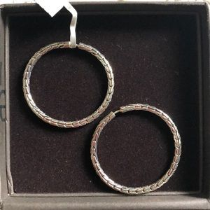 John Hardy Hoop Earrings